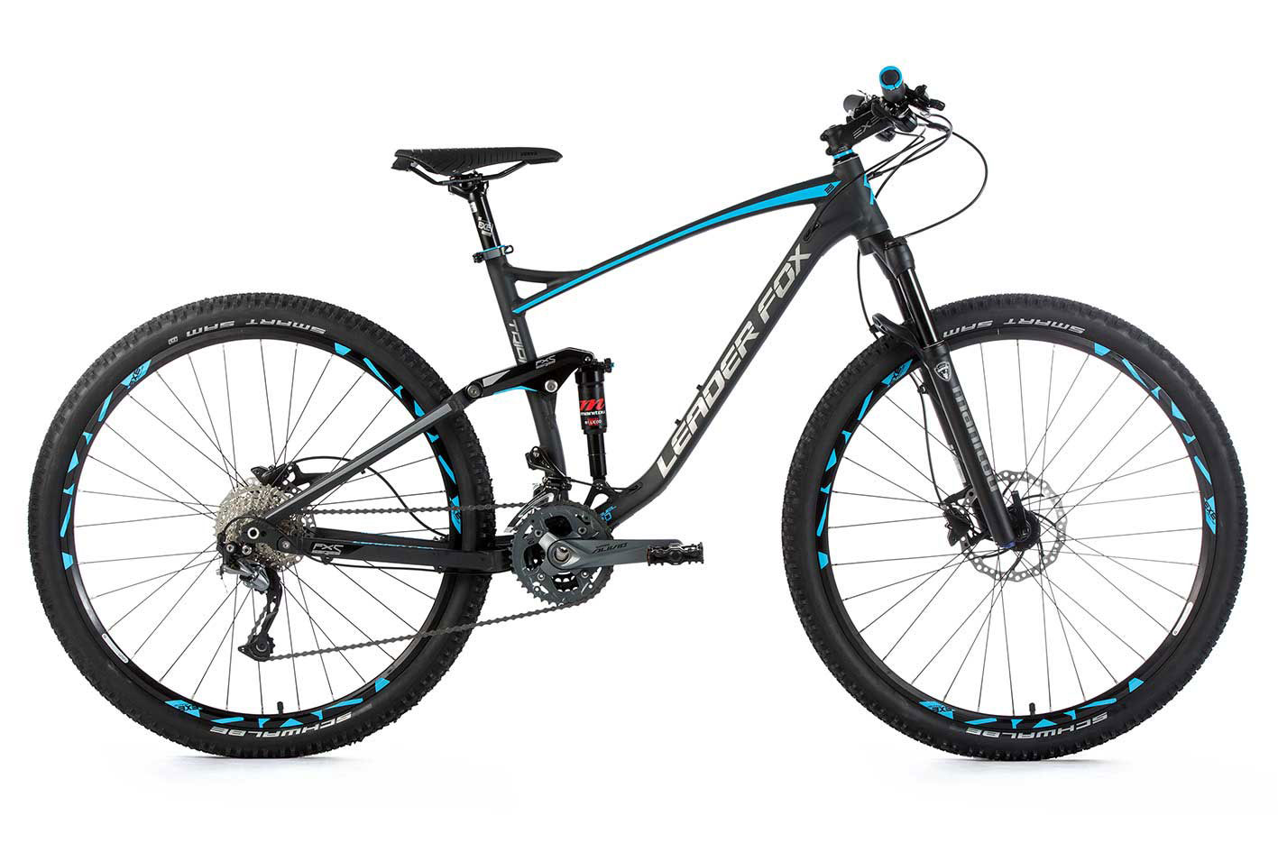 Full suspension MTB Leader Fox TRION 29