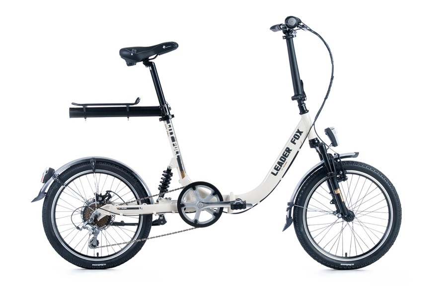 Folding bike full suspension Leader Fox CityFull